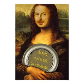 Parodia de William Shakespeare Invitaciones Personales