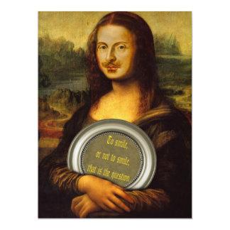 Parodia de William Shakespeare Invitación 16,5 X 22,2 Cm
