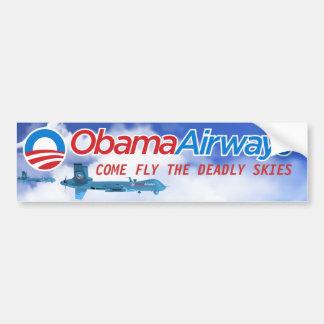 Parodia del abejón de Obama Etiqueta De Parachoque