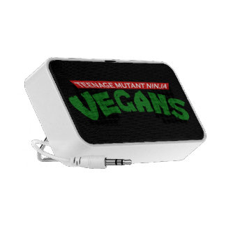 Parodia del vegano iPhone altavoces