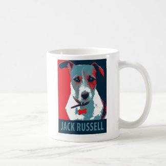 Parodia política de la esperanza de Jack Russel Taza De Café