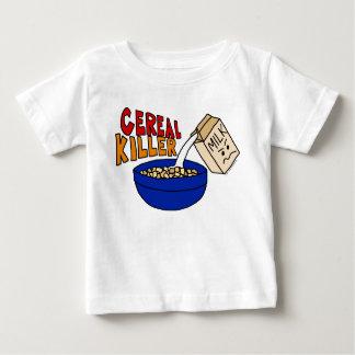 Parody Cereal Killer Breakfast Food Humor Baby T-Shirt