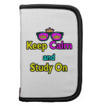 Parody Hipster Keep Calm And Study On Folio Planners
