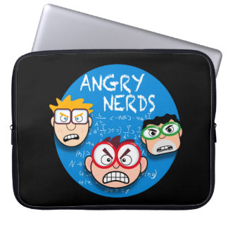 Parody of your favorite phone game: Angry Nerds, Laptop Sleeve