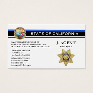 Police business cards 500 police business card templates parole agent business card thin blue line fbccfo Choice Image