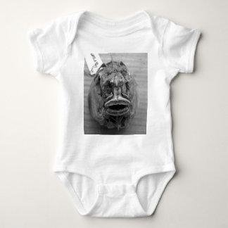 Parore Fish Skull Baby Bodysuit