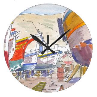 Paros Greece Clock