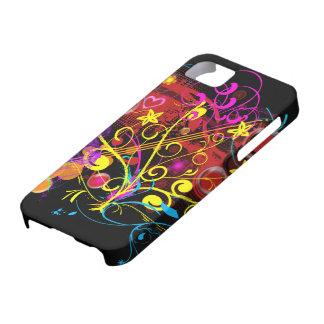 Paroxismo de la cromaticidad iPhone 5 carcasa