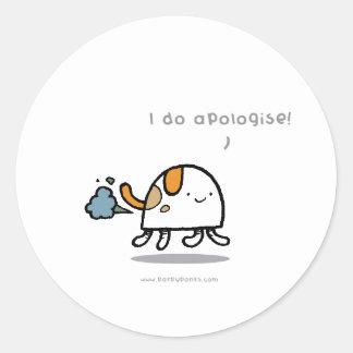 Parpypups 'I do apologise' Sticker