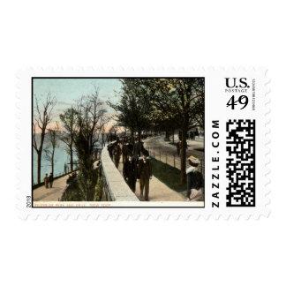 Parque 1906 de la orilla e impulsión, New York Sello Postal