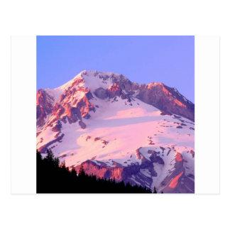 Parque Alpenglow en la capilla Oregon de Theof Tarjetas Postales