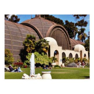 Parque Arboreum San Diego del balboa Postal