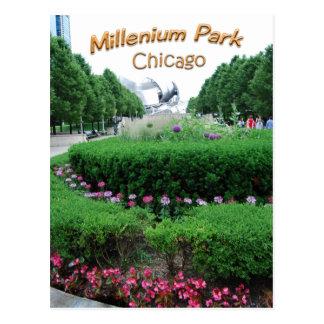 Parque Bandshell del milenio Tarjeta Postal