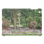 Parque blanco de la ciudad de Vaxjo, flores de Sma