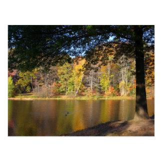 Parque Bristol CT de Rockwell de la postal del