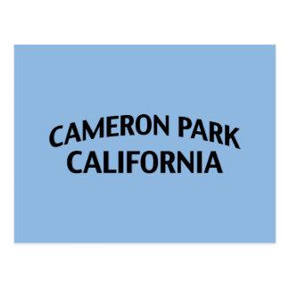 Parque California de Cameron Tarjetas Postales