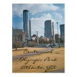 Parque centenario y Atlanta céntrica Tarjeta Postal