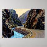 Parque Colorado Thompson Canyon Road de Estes Impresiones