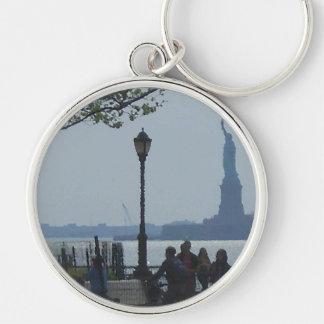 """""""Parque"""" CricketDiane del río Hudson que vaga Llavero Personalizado"""
