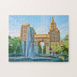 Parque cuadrado de Washington, NYC Puzzle Con Fotos