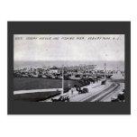 Parque de Asbury, vintage 1910 de New Jersey Tarjetas Postales