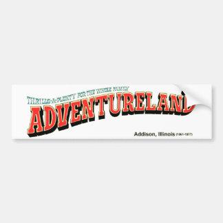Parque de atracciones de Adventureland, Addison, Pegatina Para Auto