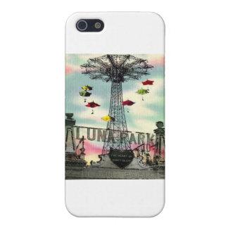 Parque de atracciones de Coney Island Luna Park Br iPhone 5 Protectores