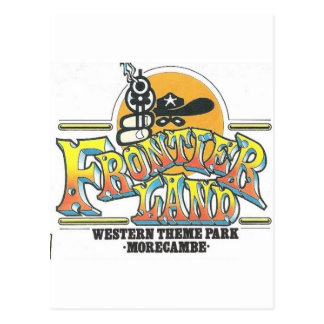Parque de atracciones de Frontierland Morecambe Postales