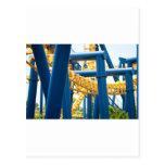 parque de atracciones de la montaña rusa postales