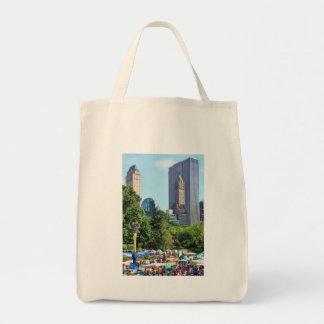 Parque de atracciones del Central Park, contexto d Bolsa