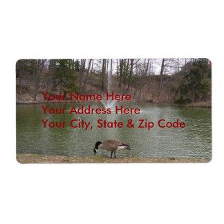 Parque de Avery Etiqueta-Hyde Etiqueta De Envío