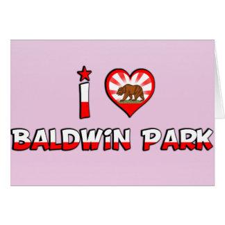 Parque de Baldwin, CA Felicitación