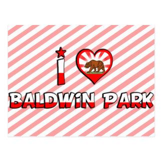 Parque de Baldwin, CA Tarjeta Postal