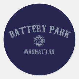 Parque de batería pegatina