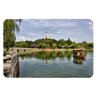Parque de Beihai Rectangle Magnet