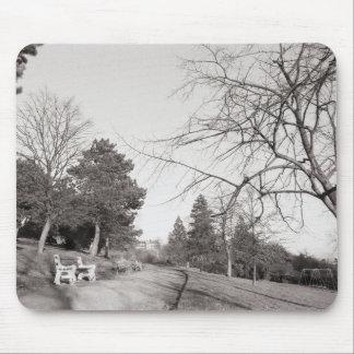 Parque de Bell Vue, Newport, lunes (diciembre de 1 Alfombrilla De Ratones
