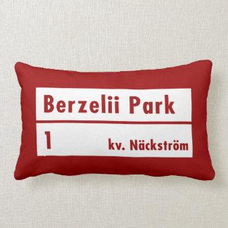 Parque de Berzelii Estocolmo placa de calle suec