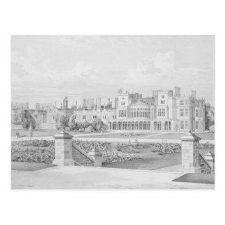 Parque de Brampton, Huntingdonshire, 1852 Postal