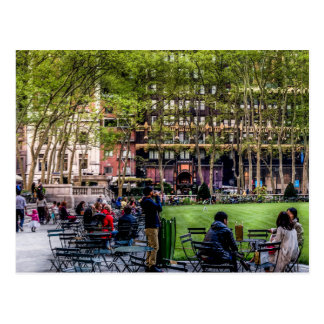 Parque de Bryant, postal de NYC
