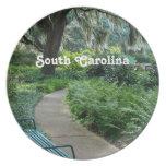 Parque de Carolina del Sur Platos