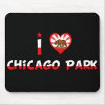Parque de Chicago, CA Alfombrilla De Ratón