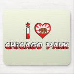 Parque de Chicago, CA Alfombrilla De Raton