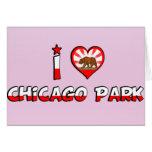 Parque de Chicago, CA Tarjeton