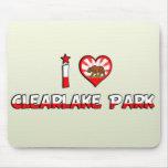 Parque de Clearlake, CA Alfombrilla De Ratones