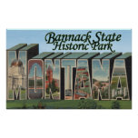 Parque de estado de Bannack, Montana Posters