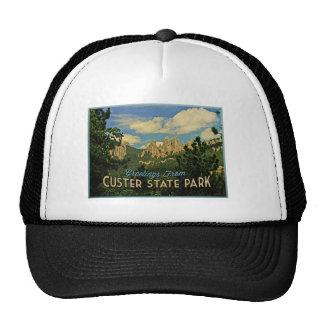 Parque de estado de Custer Gorras
