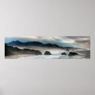 Parque de estado de Ecola en la costa de Oregon Impresiones