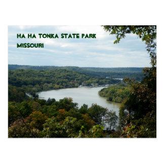 Parque de estado de la ha ha Tonka Tarjetas Postales