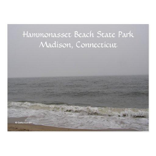Parque de estado de la playa de Hammonasset Postal