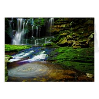 Parque de estado de las caídas del Blackwater de Tarjeta De Felicitación
